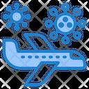 Virus Covid Travel Icon