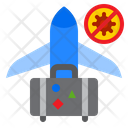 Virus Spread From Traveling Icon