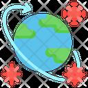 Pandemic Virus Coronavirus Icon