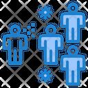 Virus Spreading Icon