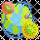 Virus Spreading World World Virus Icon