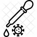 Virus Test Icon