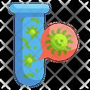Virus Test Blood Test Tube Test Icon