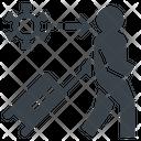 Virus Infection Tourist Icon