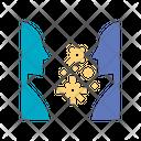 Virus Transmission Icon