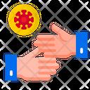 Handshake Covid Coronavirus Icon