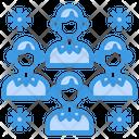 People Coronavirus Virus Transmission Icon