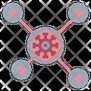 Virus Transmission Coronavirus Transmission Coronavirus Icon
