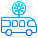 Virus Transmission For Traveling Icon
