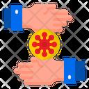Virus Trnasmission Icon