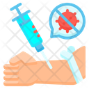 Vaccine Injection Treatment Icon