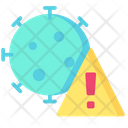 Virus Warning Warning Virus Icon