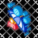 Umbrella Protection Against Icon