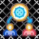 Viruses Transmission Viruses Spread Viruses Icon
