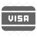 Visa Credit Card Icon