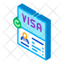 Visa Document Confirmation Icon