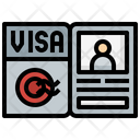 Visa Flight Pass Icon