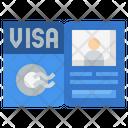 Visa Flight Pass Icon