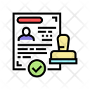 Visa Approved Icon