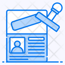Visa Consultancy Visa Document Icon