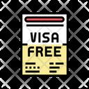 Visa Free Icon