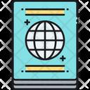 Visa Travel Document Icon