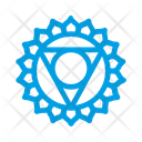 Vishuddha Throat Chakra Icon