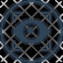 Eye Security Lock Icon