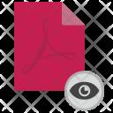Visible View Pdf Icon