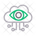 Visible cloud connection Icon