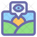Picture View Eye Icon