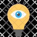 Vision Inspiring Idea Icon