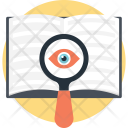 Book Magnifying Vision Icon