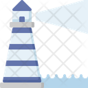 Vision Business Lighthouse Icon