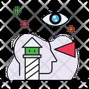 Vision Mission Future Icon