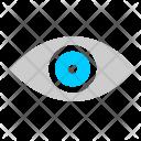 Vision Eye Biometric Icon