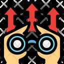 Vision Business Vision Binocular Icon