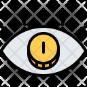 Vision Eye Coin Icon