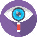 Vision Eye Magnifier Icon