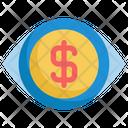 Vision Money Startup Icon