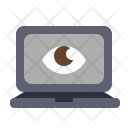 Vision Laptop Watch Icon