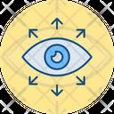 Eye Monitoring Vision Icon
