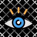 Visual Vision Eye Icon