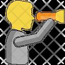 Vision Virtual Man Icon