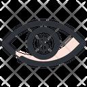 Eye Focus Eye View Icon