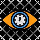 Vision Time Eye Icon