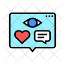 Vision Likes Comments Icon