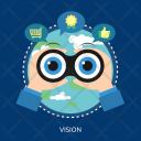 Vision Marketing Concept Icon