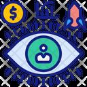 Vision Aim Goals Icon