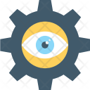 Vision Cog Eye Icon